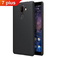 Custodia Plastica Rigida Opaca per Nokia 7 Plus Nero