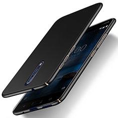 Custodia Plastica Rigida Opaca per Nokia 8 Nero