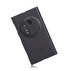 Custodia Plastica Rigida Opaca per Nokia Lumia 1020 Nero