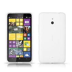 Custodia Plastica Rigida Opaca per Nokia Lumia 1320 Bianco