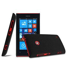 Custodia Plastica Rigida Opaca per Nokia Lumia 525 Nero