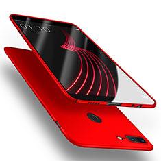 Custodia Plastica Rigida Opaca per OnePlus 5T A5010 Rosso