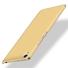 Custodia Plastica Rigida Opaca per OnePlus X Oro