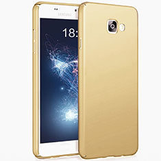Custodia Plastica Rigida Opaca per Samsung Galaxy A3 (2017) SM-A320F Oro