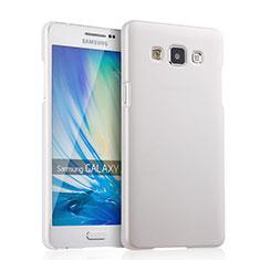 Custodia Plastica Rigida Opaca per Samsung Galaxy A5 Duos SM-500F Bianco