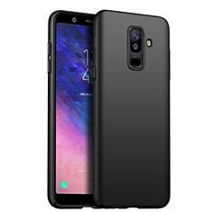 Custodia Plastica Rigida Opaca per Samsung Galaxy A6 Plus (2018) Nero