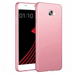 Custodia Plastica Rigida Opaca per Samsung Galaxy A7 (2017) A720F Oro Rosa