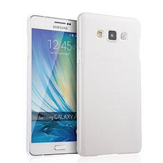 Custodia Plastica Rigida Opaca per Samsung Galaxy A7 Duos SM-A700F A700FD Bianco