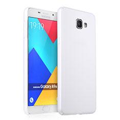 Custodia Plastica Rigida Opaca per Samsung Galaxy A9 Pro (2016) SM-A9100 Bianco