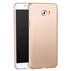 Custodia Plastica Rigida Opaca per Samsung Galaxy C5 Pro C5010 Oro