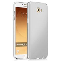 Custodia Plastica Rigida Opaca per Samsung Galaxy C9 Pro C9000 Bianco