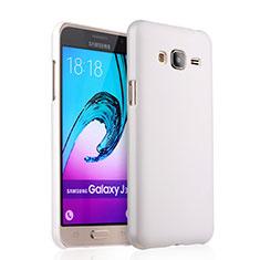 Custodia Plastica Rigida Opaca per Samsung Galaxy J3 (2016) J320F J3109 Bianco
