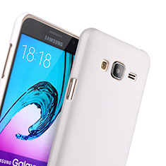 Custodia Plastica Rigida Opaca per Samsung Galaxy J3 Bianco