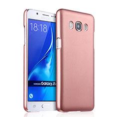 Custodia Plastica Rigida Opaca per Samsung Galaxy J5 Duos (2016) Oro Rosa