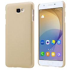 Custodia Plastica Rigida Opaca per Samsung Galaxy J5 Prime G570F Oro