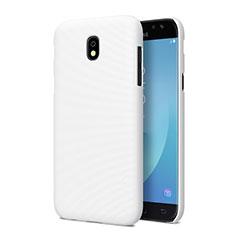 Custodia Plastica Rigida Opaca per Samsung Galaxy J5 Pro (2017) J530Y Bianco