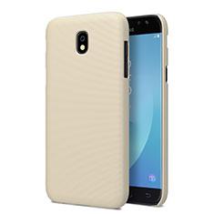 Custodia Plastica Rigida Opaca per Samsung Galaxy J5 Pro (2017) J530Y Oro
