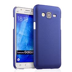Custodia Plastica Rigida Opaca per Samsung Galaxy J5 SM-J500F Blu