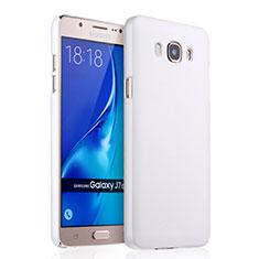 Custodia Plastica Rigida Opaca per Samsung Galaxy J7 (2016) J710F J710FN Bianco