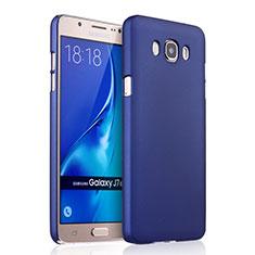 Custodia Plastica Rigida Opaca per Samsung Galaxy J7 (2016) J710F J710FN Blu