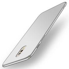Custodia Plastica Rigida Opaca per Samsung Galaxy J7 Plus Argento