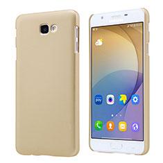 Custodia Plastica Rigida Opaca per Samsung Galaxy J7 Prime Oro