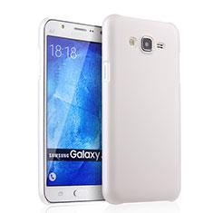 Custodia Plastica Rigida Opaca per Samsung Galaxy J7 SM-J700F J700H Bianco