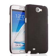 Custodia Plastica Rigida Opaca per Samsung Galaxy Note 2 N7100 N7105 Nero