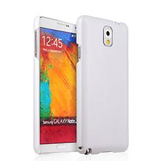 Custodia Plastica Rigida Opaca per Samsung Galaxy Note 3 N9000 Bianco