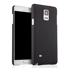Custodia Plastica Rigida Opaca per Samsung Galaxy Note 4 Duos N9100 Dual SIM Nero