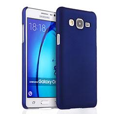 Custodia Plastica Rigida Opaca per Samsung Galaxy On5 G550FY Blu