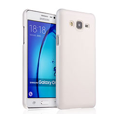 Custodia Plastica Rigida Opaca per Samsung Galaxy On7 Pro Bianco