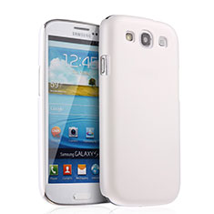 Custodia Plastica Rigida Opaca per Samsung Galaxy S3 III i9305 Neo Bianco