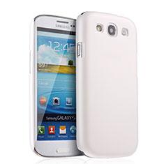 Custodia Plastica Rigida Opaca per Samsung Galaxy S3 III LTE 4G Bianco