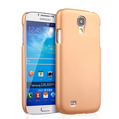 Custodia Plastica Rigida Opaca per Samsung Galaxy S4 i9500 i9505 Oro