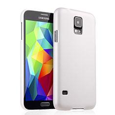 Custodia Plastica Rigida Opaca per Samsung Galaxy S5 G900F G903F Bianco