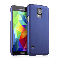 Custodia Plastica Rigida Opaca per Samsung Galaxy S5 G900F G903F Blu