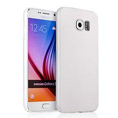Custodia Plastica Rigida Opaca per Samsung Galaxy S6 Duos SM-G920F G9200 Bianco