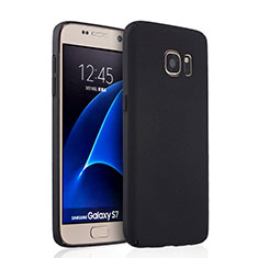 Custodia Plastica Rigida Opaca per Samsung Galaxy S7 G930F G930FD Nero