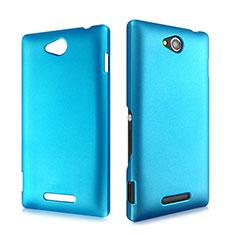Custodia Plastica Rigida Opaca per Sony Xperia C S39h Cielo Blu