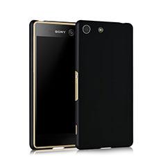 Custodia Plastica Rigida Opaca per Sony Xperia M5 Nero