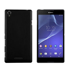 Custodia Plastica Rigida Opaca per Sony Xperia T3 Nero