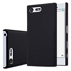 Custodia Plastica Rigida Opaca per Sony Xperia X Compact Nero
