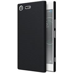 Custodia Plastica Rigida Opaca per Sony Xperia XZ Premium Nero