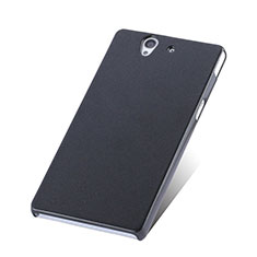 Custodia Plastica Rigida Opaca per Sony Xperia Z L36h Nero