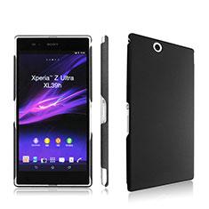 Custodia Plastica Rigida Opaca per Sony Xperia Z Ultra XL39h Nero