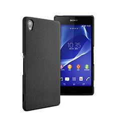 Custodia Plastica Rigida Opaca per Sony Xperia Z2 Nero