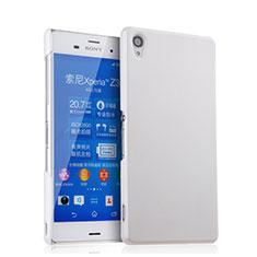 Custodia Plastica Rigida Opaca per Sony Xperia Z3 Bianco
