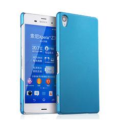 Custodia Plastica Rigida Opaca per Sony Xperia Z3 Cielo Blu