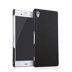 Custodia Plastica Rigida Opaca per Sony Xperia Z3 Nero